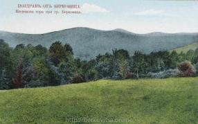 Изглед към планинските масиви над Берковица