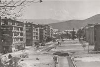 """Изглед към центъра на Берковица от хотел """"Мрамор"""""""