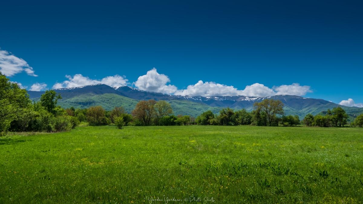 Изглед към берковския балкан