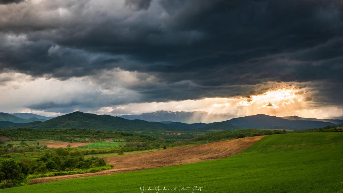 Изглед към балкана над Берковица