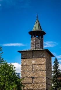 Часовниковата кула, построена 1762г.