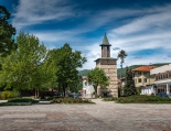 Изглед от центъра на град Берковица