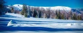 Зима на връх Ком