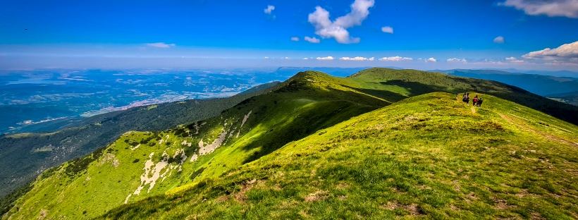 Поглед от връх Ком