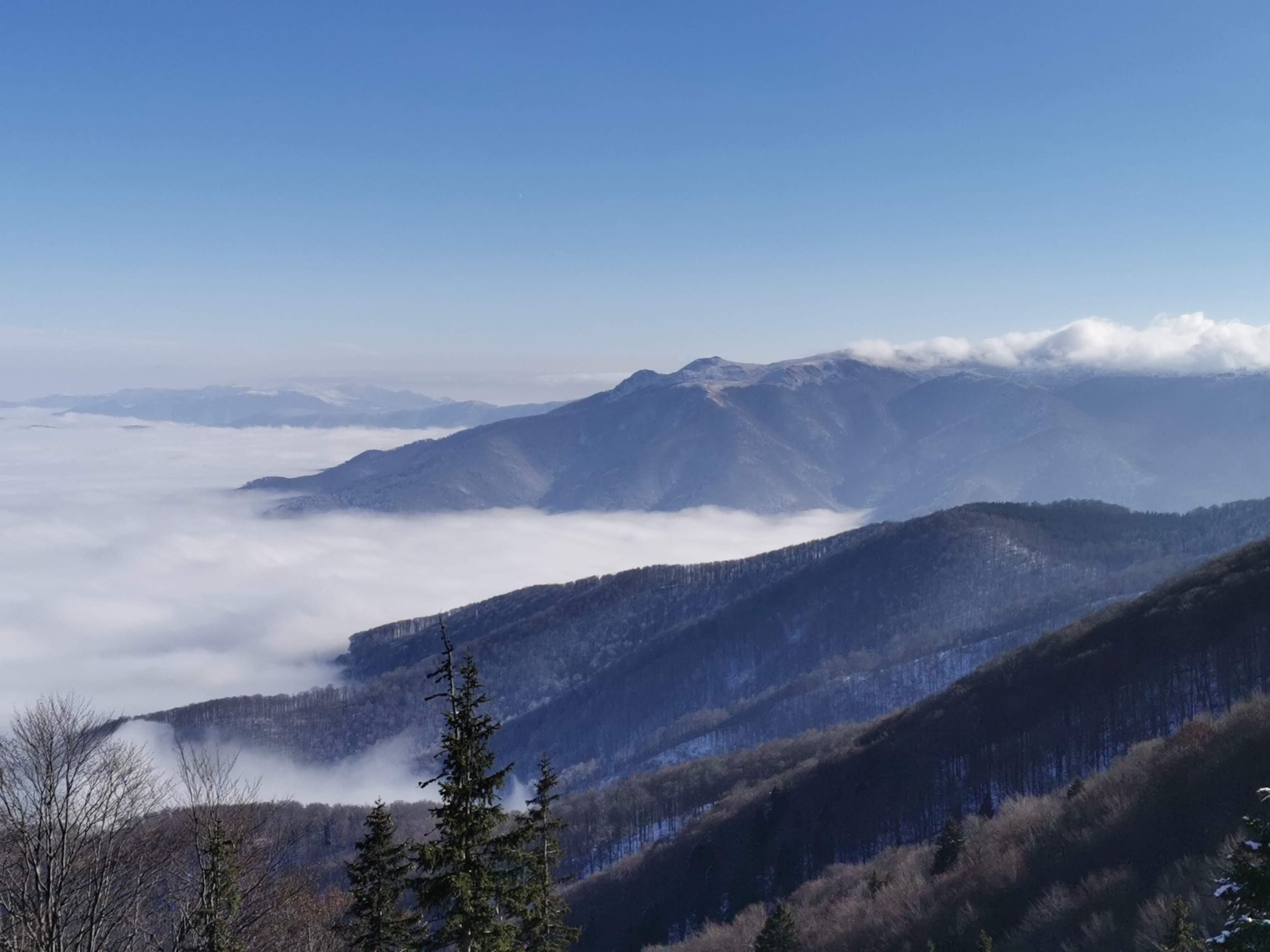 Мъгла над прохода Петрохан